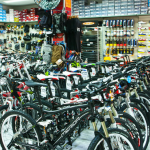 Fahrradgeschäft in El Arenal