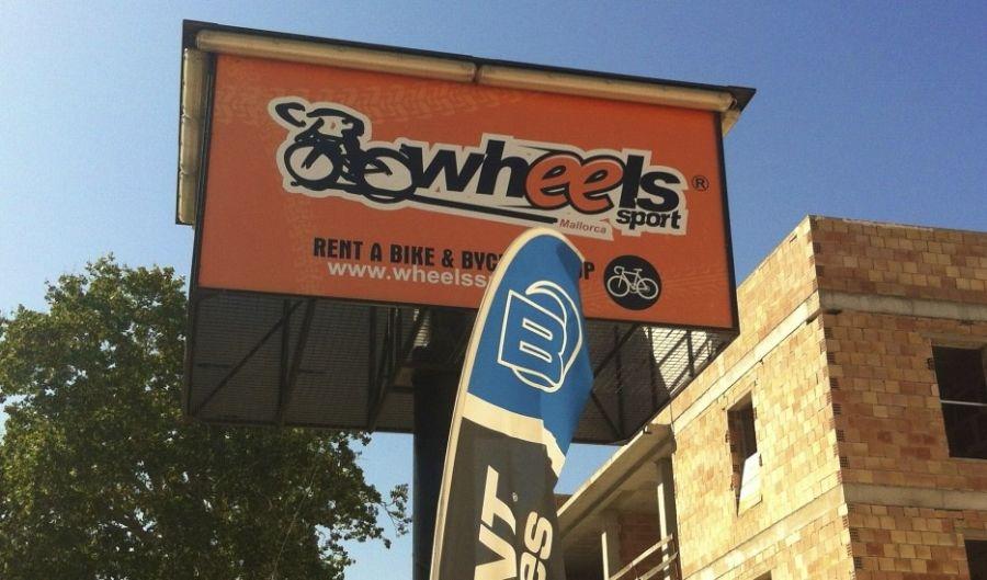 Fahrrad-Geschäft in Alcudia