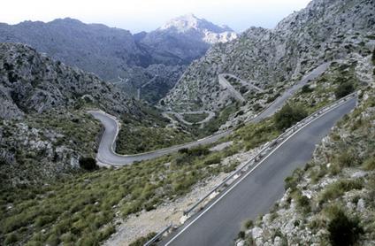 Radtouren auf Mallorca: Sa Calobra